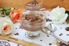 Шоколадный мусс из манки