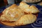 Пирожки с картошкой и ливерной колбасой