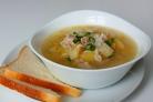 Суп рисовый с картофелем