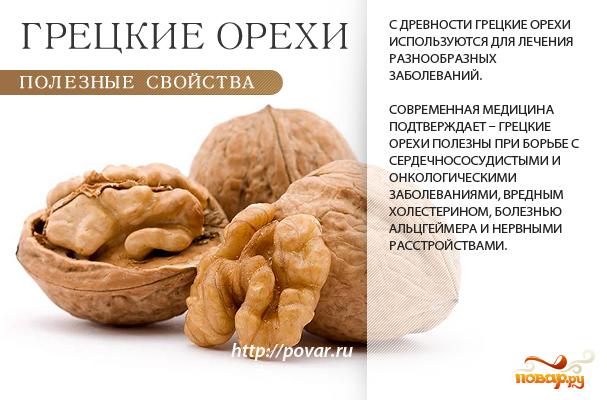 Какая польза от грецких орехов