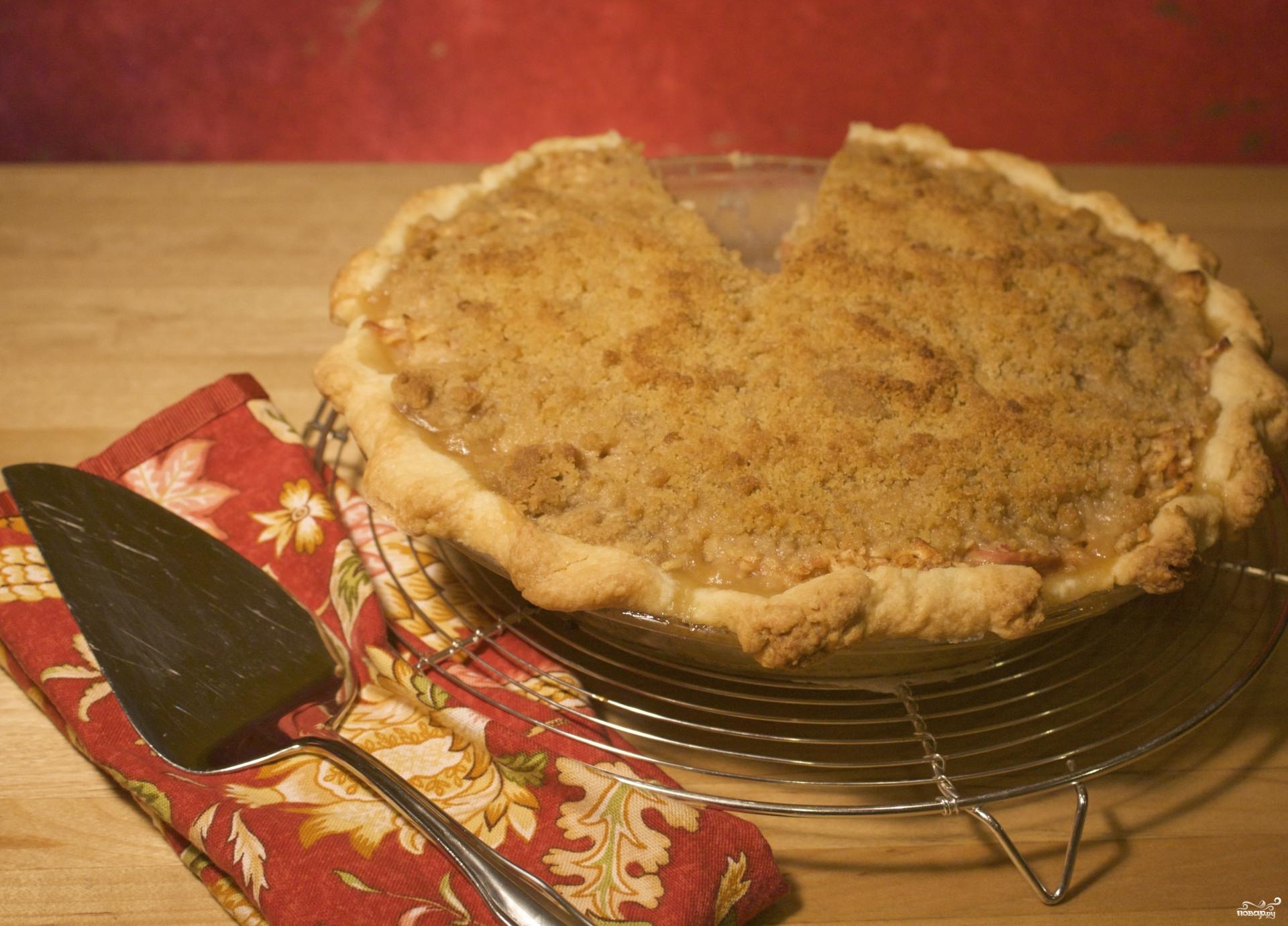 красивые пироги с яблоками рецепт #12