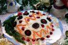 Новогодний салат Ёлочная игрушка