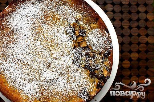 Рецепт Рецепт шоколадного пирога с грушами