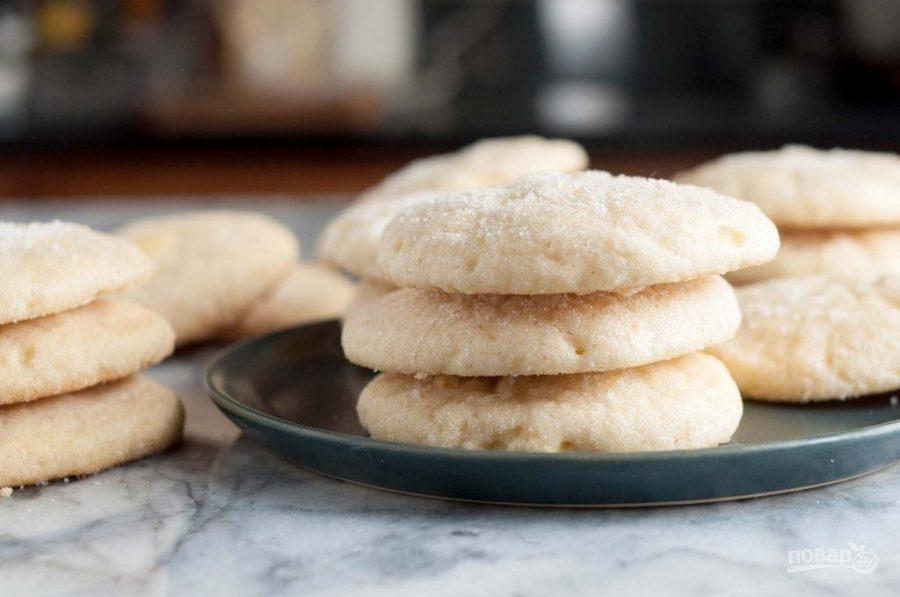 рецепт тонкого печенья в духовке