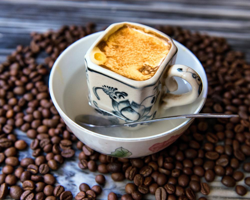 Вьетнамский кофе с яйцом