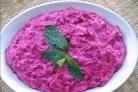 Легкий салат со свеклой