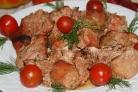 Маринованная свинина в духовке на обед