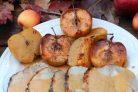 Свинина, запеченная с яблоками