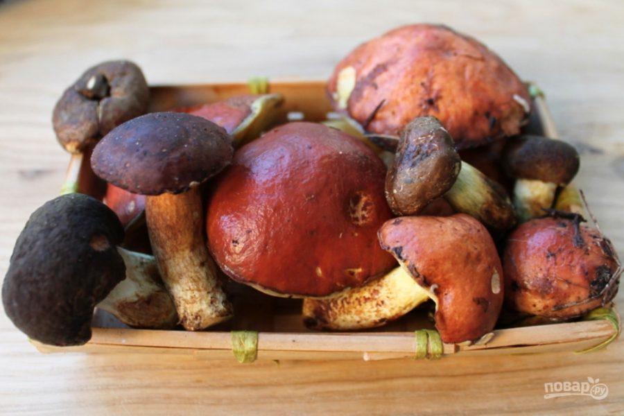 Юшка из грибов