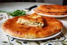 Осетинский пирог на сковороде