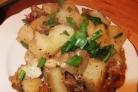 Картошка со свининой в пакете для запекания