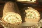 Рулет из куриной печени с сыром