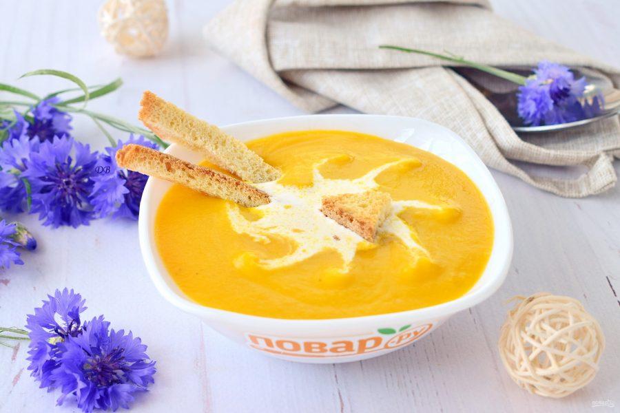 Суп-потаж морковный