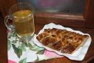 Пирог с курицей из дрожжевого теста