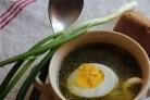 Щавелевый суп с тушенкой