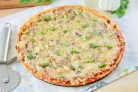 Простая пицца с луком