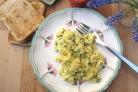 Яичница с капустой