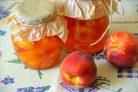 Варенье из персиков с лимоном