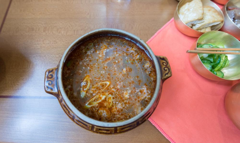 Бошинтанг (корейский деликатес)