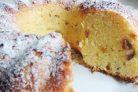 Творожный кекс с изюмом в духовке