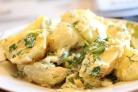 Картошка в духовке со сметаной и сыром