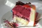 Черничный мусс для торта