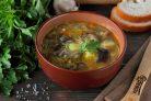 Грибной суп с фунчозой