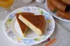 Заливной пирог из капусты
