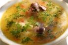 Суп из гусиных потрохов