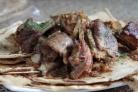 Тушеные бараньи ребрышки