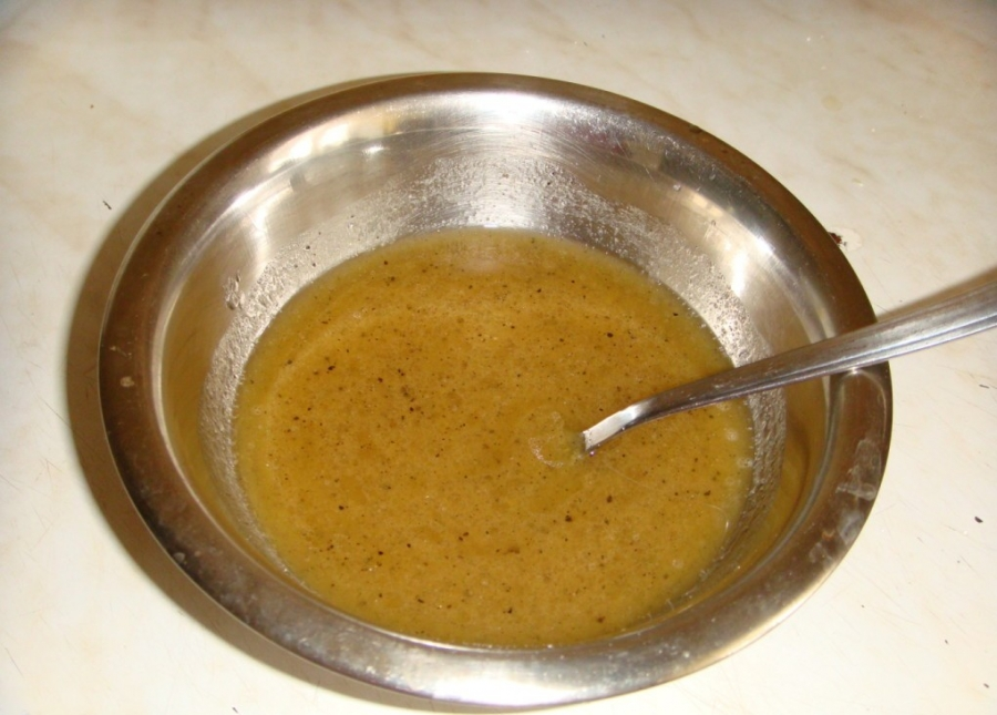 Огурцы в горчичной заливке