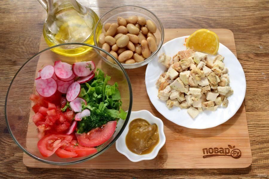 салат вдохновение рецепт с курицей