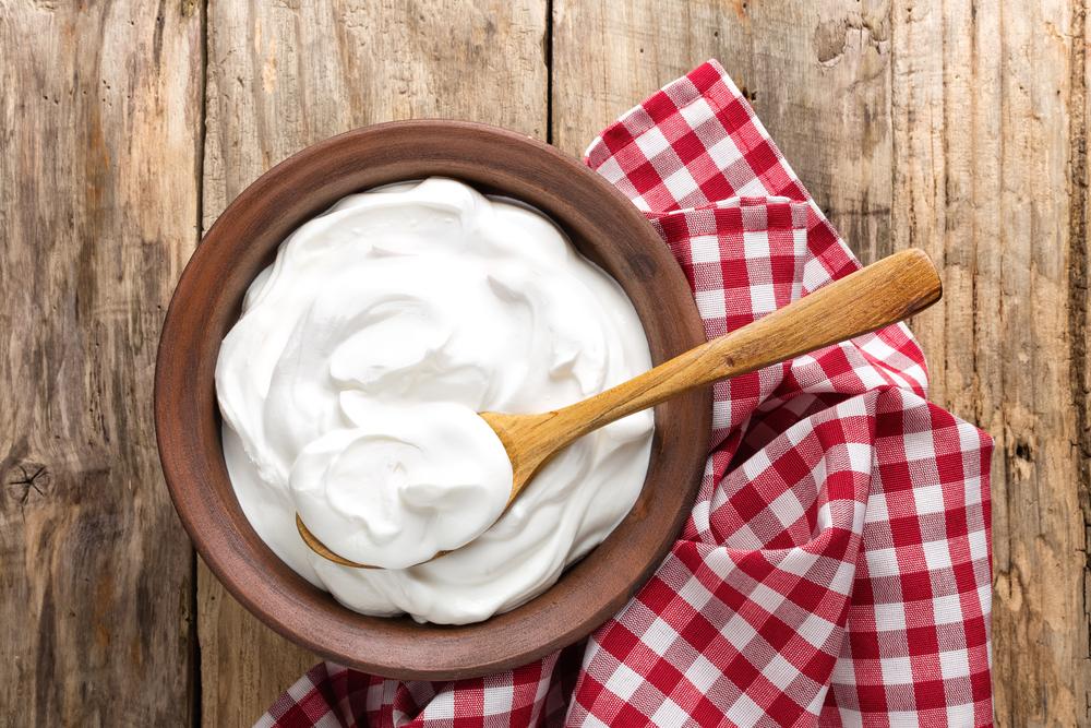 Натуральный йогурт для заправки