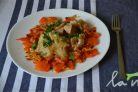 Кальмары в чесночном соусе