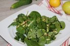 Диетический зелёный салат
