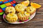 Тарталетки с творожным кремом и фруктами