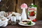 Лучший рецепт пломбира с клубничным джемом Махеевъ