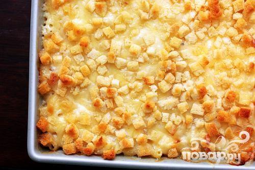 Рецепт Рецепт запеканки с макаронами и сыром