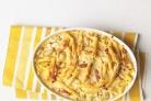 Запеченная паста с курицей и помидорами