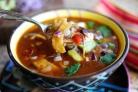 Куриный суп с кукурузными лепешками