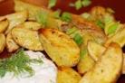 Картофель с зеленью