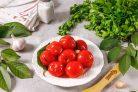 Газированные помидоры холодным способом