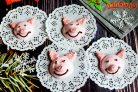 Безе Веселые свинки