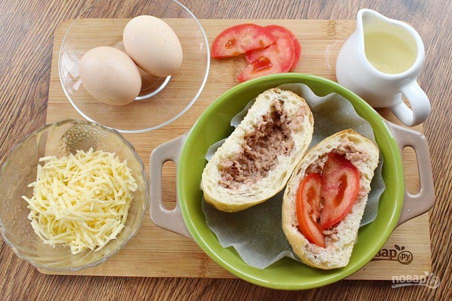 Яйцо-кокот в горбушке