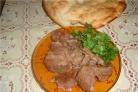Баранина отварная по-армянски