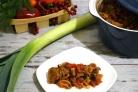 Овощное рагу со свининой в духовке