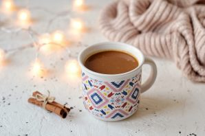 Какао с тыквой
