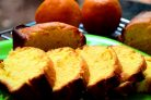 Легкий апельсиновый кекс