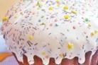 Глазурь для кулича без сахарной пудры