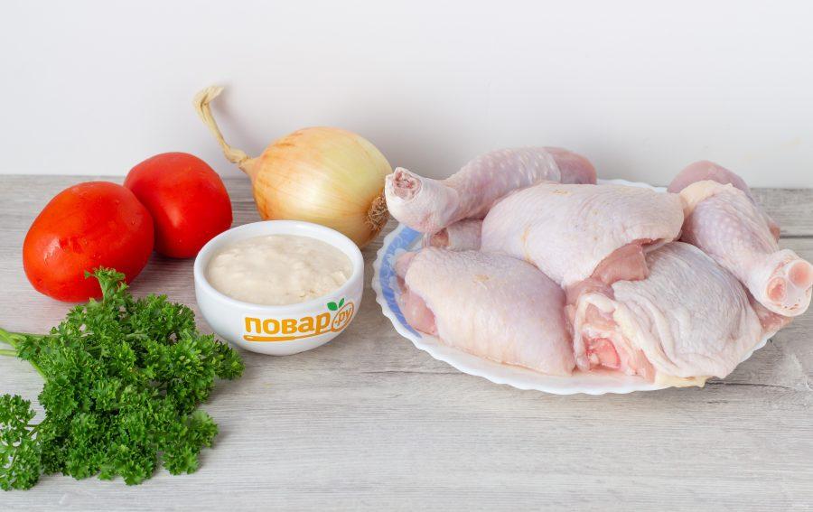 Курица, запеченная в ряженке
